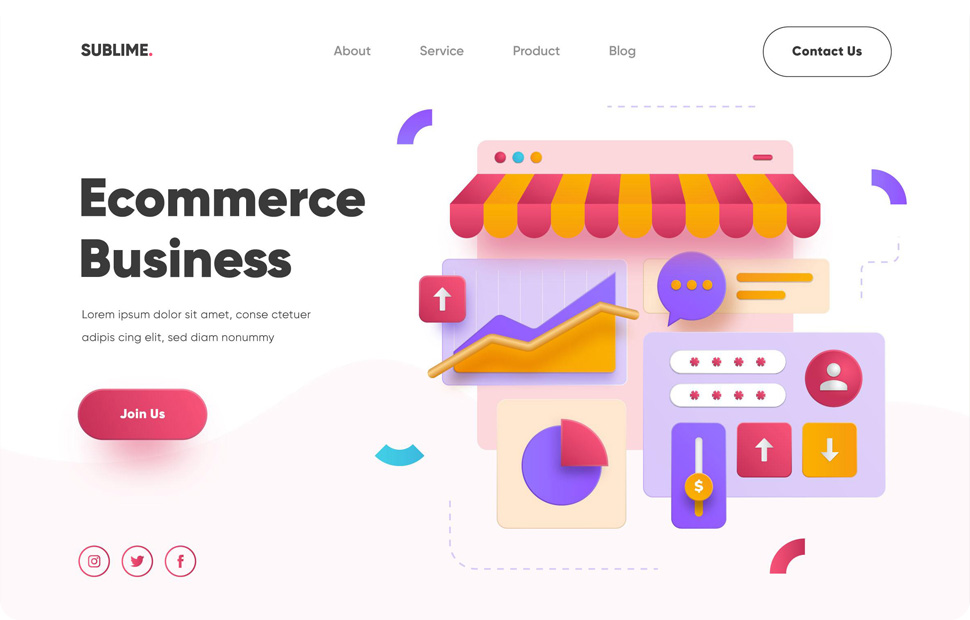 Ecommerce Business Application